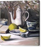 Tea With Lemon Acrylic Print