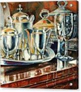 Tea With Marguerite Acrylic Print