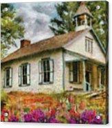 Teacher - The School House Acrylic Print