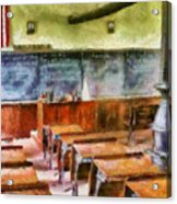 Teacher - Pay Attention In Class Acrylic Print by Mike Savad