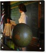 Teaching Globe Acrylic Print