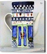 Teapot Delusional Acrylic Print
