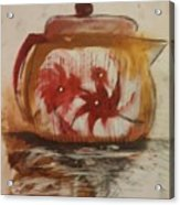 Teapot Acrylic Print by Gregory Dallum