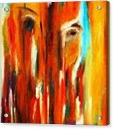 Tears For Haiti Acrylic Print