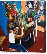 Tears 'n Beers Acrylic Print