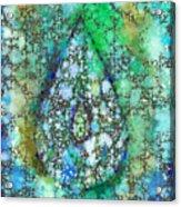 Tears Of Growth Acrylic Print
