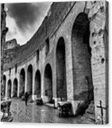 Tears Of Rain At Coliseum Acrylic Print