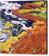 Tectonic Acrylic Print