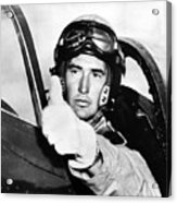 Ted Williams 1918-2002, American Acrylic Print by Everett