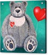 Teddy Bear Eli Acrylic Print
