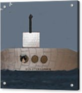 Teddy In Submarine Acrylic Print
