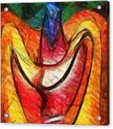 Teehee Acrylic Print