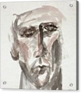 Teen Boy's Portrait Acrylic Print