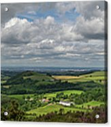 Tees Plain And Roseberry Topping Acrylic Print
