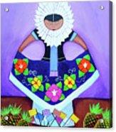 Tehuana Acrylic Print