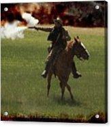 Tejano Cavalry Acrylic Print