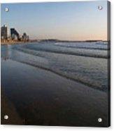 Tel Aviv Beach Acrylic Print
