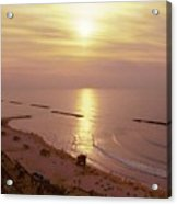 Tel Aviv Beach Morning Acrylic Print