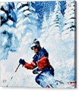 Telemark Trails Acrylic Print