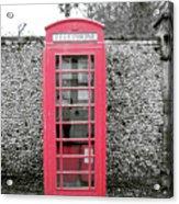 Telephone Acrylic Print