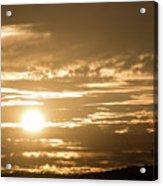 Telstra Tower Sunset Acrylic Print