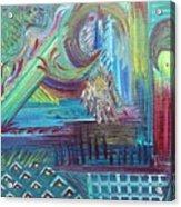 Temperature Rising Acrylic Print