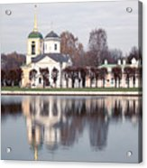Temple And Bell Tower Acrylic Print