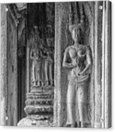 Temple Goddess Acrylic Print