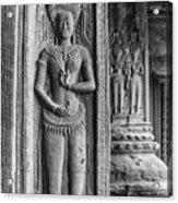 Temple Guardian Acrylic Print