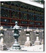 Temple Lanterns  Acrylic Print