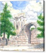Temple Of Apollo - Corinth Acrylic Print