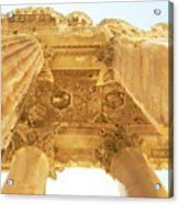 Temple Of Bacchus Acrylic Print