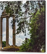 Temple Of Castor And Pollux Acrylic Print