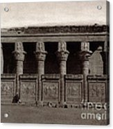 Temple Of Hathor, Early 20th Century Acrylic Print