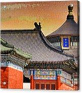 Temple Of Heaven Acrylic Print