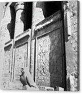 Temple Of Horus Acrylic Print