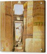 Temple Of Karnak  2 Acrylic Print