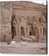Temple Of Rameses II Acrylic Print