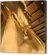 Temple Of Reclining Buddha  Acrylic Print