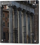 Temple Of Saturn Acrylic Print