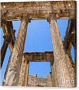 Temple Of The Capitol IIi Acrylic Print