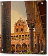 Temple Of The Sun Acrylic Print