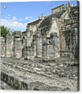 Temple Of The Warriors - Chichen Itza - Mexico Acrylic Print