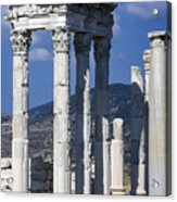 Temple Of Trajan View 1 Acrylic Print
