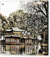 Temple On The Lake Acrylic Print