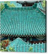 Temple Roofs Acrylic Print