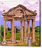Temple Ruins At Ephesus Acrylic Print