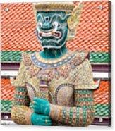 Temple Warrior Acrylic Print
