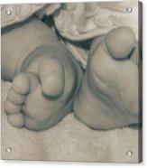 Ten Tip Toes Acrylic Print