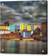 Tenby Harbour Pembrokeshire Acrylic Print